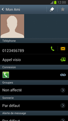 Samsung Galaxy Note 2 - Contact, Appels, SMS/MMS - Ajouter un contact - Étape 9