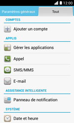 Huawei Ascend Y330 - Messagerie vocale - Configuration manuelle - Étape 4