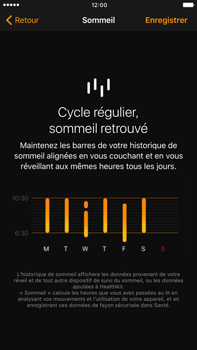 Apple Apple iPhone 6s Plus iOS 10 - iOS features - Coucher - Étape 10