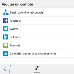 BlackBerry Classic - E-mail - Configuration manuelle - Étape 6