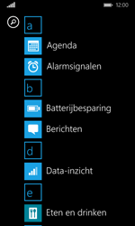 Microsoft Lumia 532 - SMS - Handmatig instellen - Stap 3