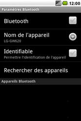 LG GW620 - Bluetooth - connexion Bluetooth - Étape 8