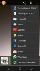Sony Xperia Z - Funciones básicas - Uso de la camára - Paso 13