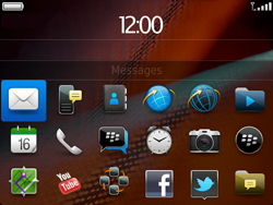 BlackBerry 9900 Bold Touch - E-mail - Envoi d