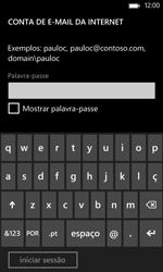 Nokia Lumia 625 - Email - Configurar a conta de Email -  15