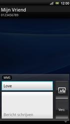 Sony Ericsson Xperia Ray - MMS - afbeeldingen verzenden - Stap 8