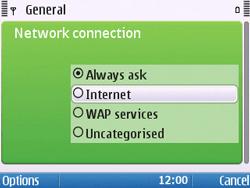 Nokia E5-00 - Internet - Manual configuration - Step 25