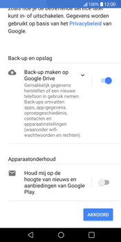 LG V30 (LG-H930) - Applicaties - Account aanmaken - Stap 17