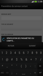 HTC One Mini - E-mail - Configuration manuelle - Étape 17