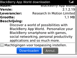 BlackBerry 8520 Curve - Applicaties - Applicaties downloaden - Stap 8