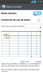 LG Optimus L5 II - Internet - Ver uso de datos - Paso 5