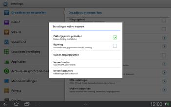 Samsung P7500 Galaxy Tab 10-1 - Buitenland - Bellen, sms en internet - Stap 6