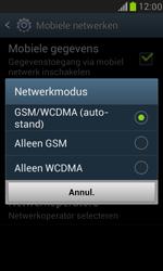 Samsung I8190 Galaxy S III Mini - Netwerk - Wijzig netwerkmodus - Stap 7