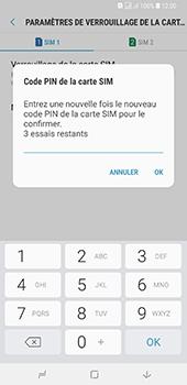 Samsung Galaxy A7 2018 - Sécuriser votre mobile - Personnaliser le code PIN de votre carte SIM - Étape 11