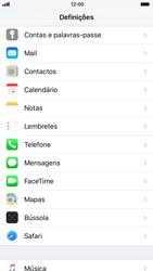 Apple iPhone 8 - Segurança - Como ativar o código PIN do cartão de telemóvel -  3