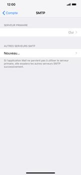 Apple iPhone XR - E-mail - Configuration manuelle - Étape 20