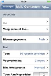 Apple iPhone 3G S - E-mail - Handmatig instellen - Stap 11