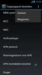 Acer Liquid Z5 - MMS - Handmatig instellen - Stap 15