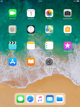 Apple iPad Pro 9.7 - iOS 11 - Wifi - configuration manuelle - Étape 1