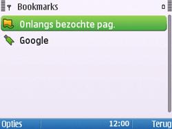 Nokia E5-00 - Internet - Hoe te internetten - Stap 10