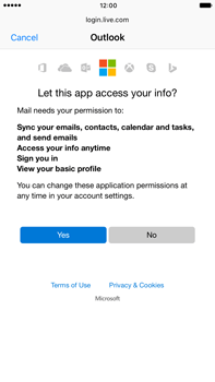Apple iPhone 7 Plus - E-mail - Manual configuration (outlook) - Step 7