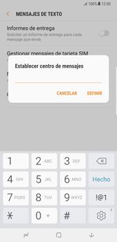 Samsung Galaxy Note 8 - Mensajería - Configurar el equipo para mensajes de texto - Paso 9