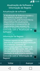LG C70 / SPIRIT - Primeiros passos - Como ligar o telemóvel pela primeira vez -  13