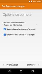 Crosscall Action X3 - E-mails - Ajouter ou modifier un compte e-mail - Étape 23