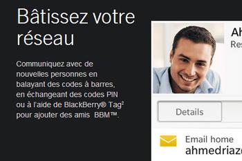 BlackBerry curve 3G - Premiers pas - Spécificités produit - Étape 5