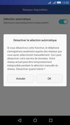 Huawei Y6 - Réseau - Sélection manuelle du réseau - Étape 7