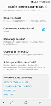 Samsung Galaxy A6 - Sécurité - modifier SIM PIN - Étape 5