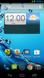 Acer Liquid E1 - Internet - Activer ou désactiver - Étape 1