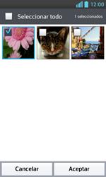 LG Optimus L5 II - Mensajería - Escribir y enviar un mensaje multimedia - Paso 16