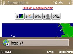 Nokia E72 - Internet - hoe te internetten - Stap 15