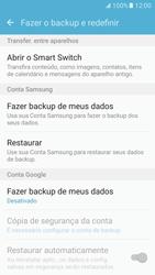 Samsung Galaxy S7 - Funções básicas - Como restaurar as configurações originais do seu aparelho - Etapa 5