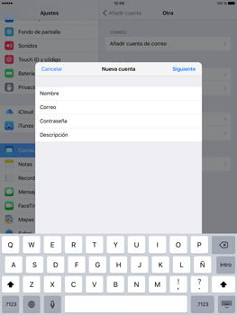 Apple iPad Pro 9.7 - E-mail - Configurar correo electrónico - Paso 9