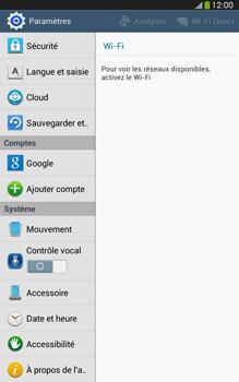 Samsung Galaxy Tab 3 8 4G - Aller plus loin - Restaurer les paramètres d'usines - Étape 4