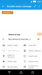 Sony Xperia M4 Aqua - Mensajería - Escribir y enviar un mensaje multimedia - Paso 12