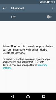 Sony F3211 Xperia XA Ultra - WiFi and Bluetooth - Setup Blue Tooth Pairing - Step 5