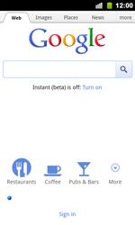 Google Nexus S - Internet - Internet browsing - Step 4