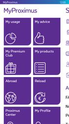 Nokia Lumia 830 - Applications - MyProximus - Step 18