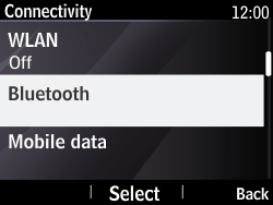 Nokia Asha 210 - Bluetooth - Pair with another device - Step 5