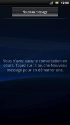 Sony Ericsson Xpéria Arc - Contact, Appels, SMS/MMS - Envoyer un SMS - Étape 4