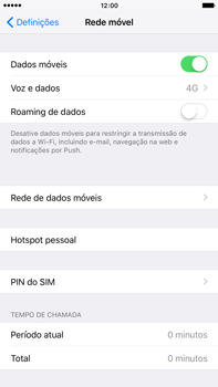 Apple iPhone 6s Plus - Internet no telemóvel - Como ativar 4G -  7