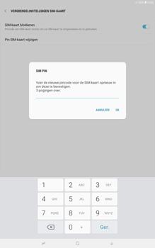 Samsung galaxy-tab-a-10-5-sm-t595 - Beveiliging en ouderlijk toezicht - Hoe wijzig ik mijn SIM PIN-code - Stap 10