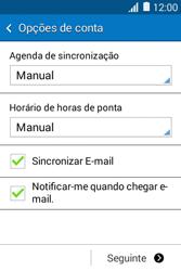 Samsung Galaxy Young II - Email - Configurar a conta de Email -  17