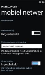 Nokia Lumia 710 - Internet - Handmatig instellen - Stap 5