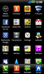 LG P990 Optimus 2X Speed - Internet - activer ou désactiver - Étape 3