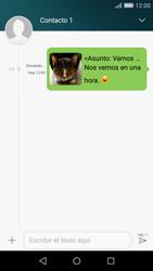 Huawei P8 Lite - Mensajería - Escribir y enviar un mensaje multimedia - Paso 18