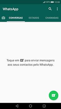 Huawei Mate 9 - Aplicações - Como configurar o WhatsApp -  14